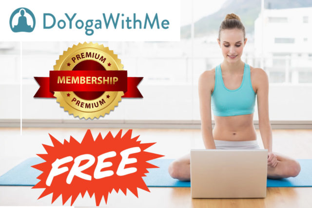Do Yoga With Me FREE 2 Months Premium Account