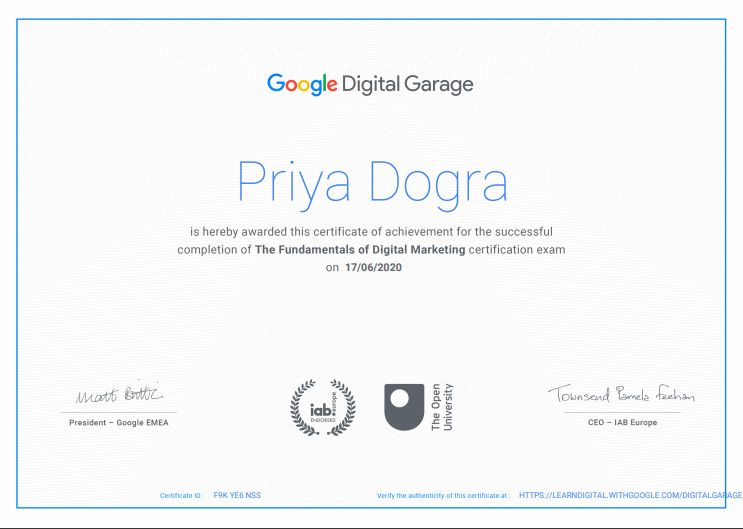 Google Digital Unlocked Final Exam Answers - Digital garage fixan Exam answers - google digital marketing certification final exam answers