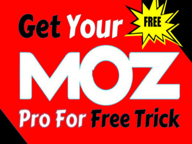 How to Get Moz Pro Premium Account for FREE Use Moz Pro FREE for Lifetime 100 Working Trick
