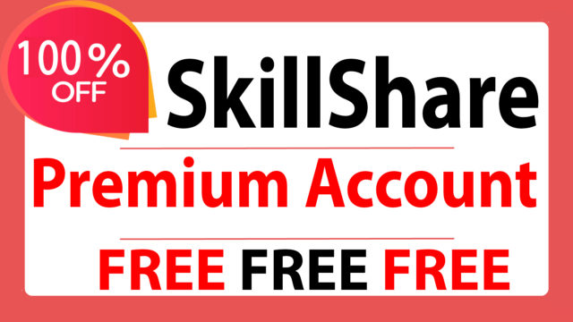 How to get Skill Share Premium Account Free - No Credit Card Required