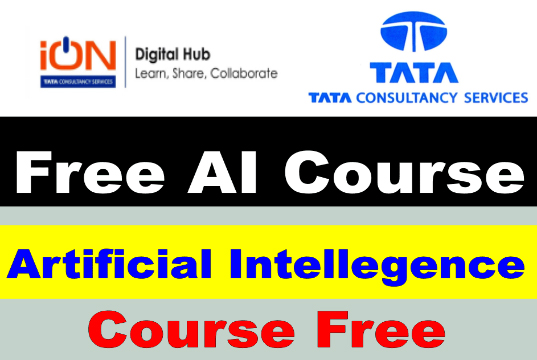 artificial intelligence free course by TCS