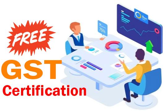 free online gst certificate