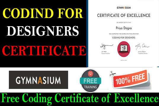 CODING FOR DESIGNERS - Gymnasium Certificate Answers b