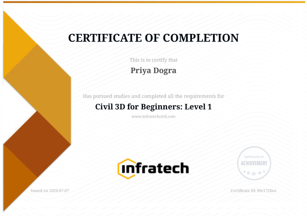 Civil 3D Training Course for Beginners