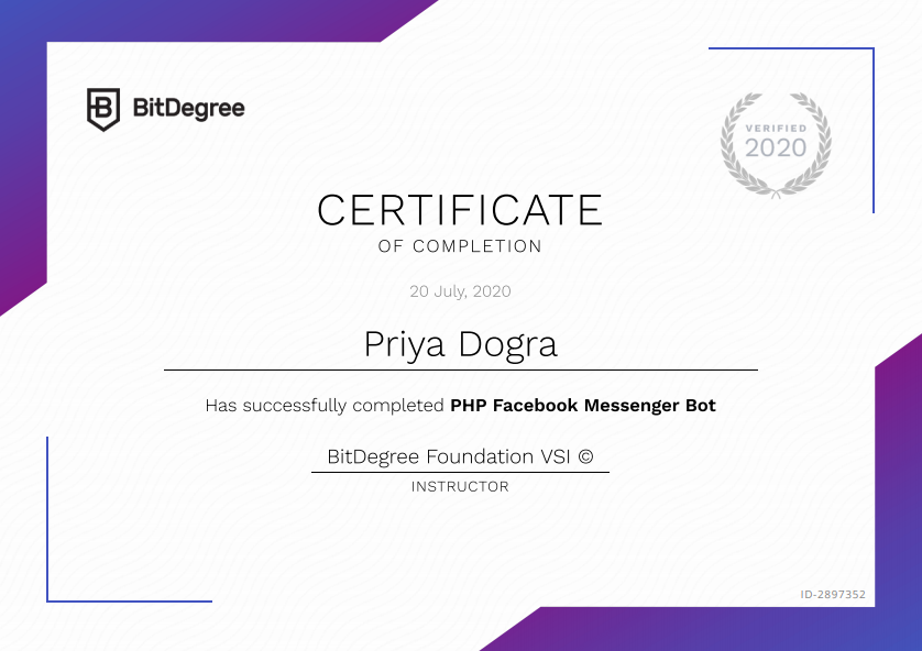 How to Build a Facebook Messenger Bot in PHP - Free Course with Certificate