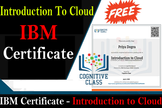 Introduction to Cloud ibm cognitive class answers