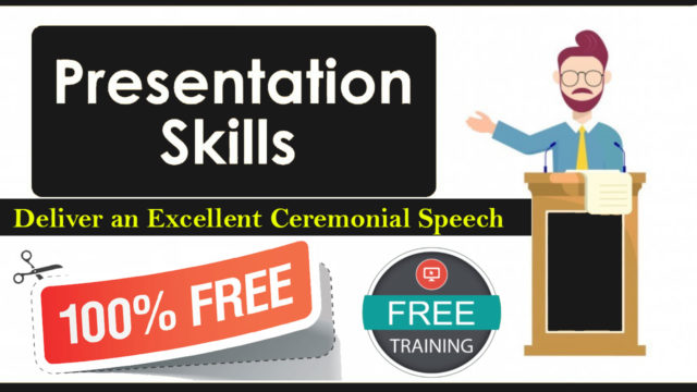Presentation Skills Free Online Course with Certificate