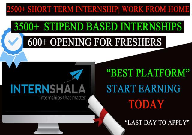 internshala free internship