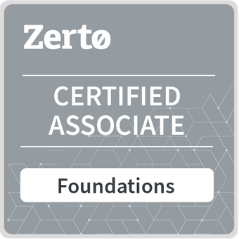 zerto certified associate exam answers