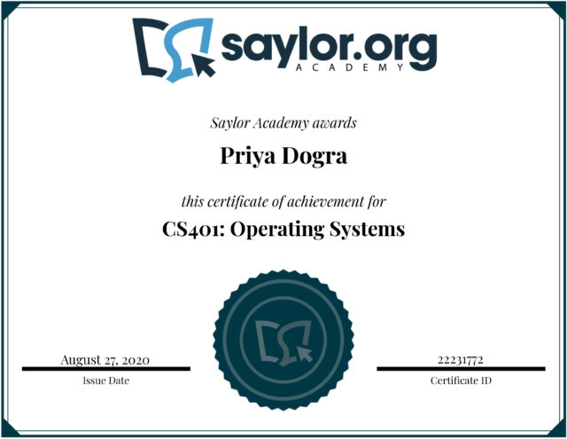 Saylor Academy Free Online Courses with Certificate