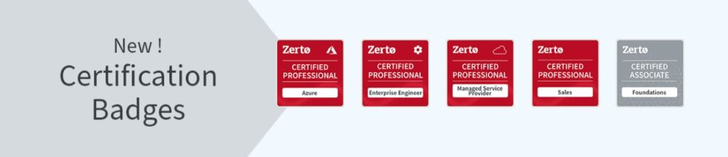 Zerto Free Training and Certifications - My Zerto University