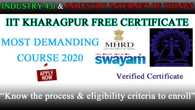 industry 4.0 internet of things free certificate