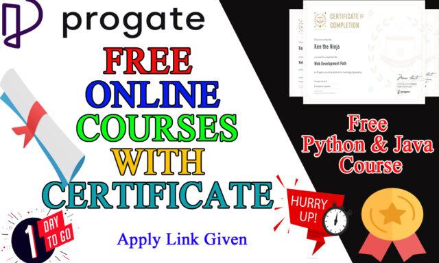 progate free courses