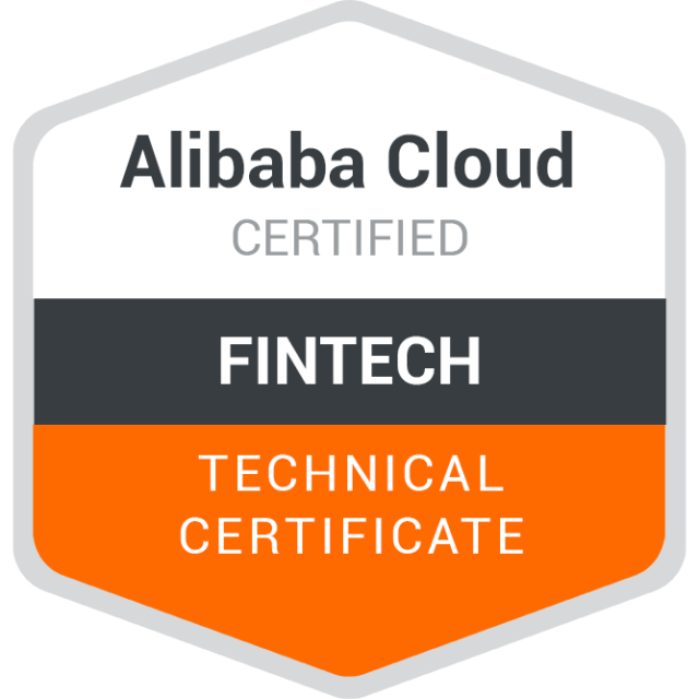 Alibaba Cloud Certified Fintech Technical Certificate QuizExam Answers