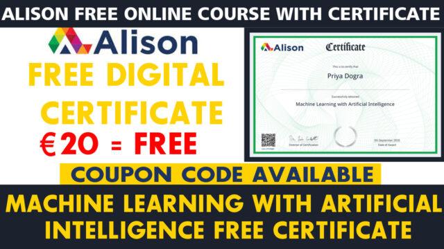 Alison free certificate