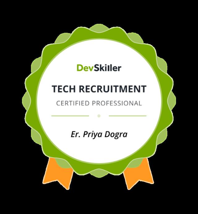Devskiller Certification