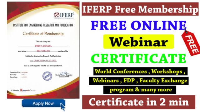 IFERP membership