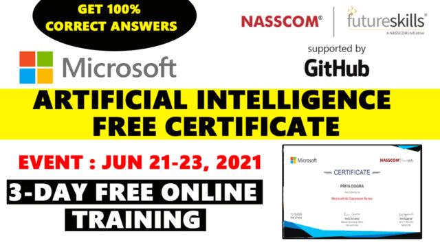 microsoft ai classroom series certificate