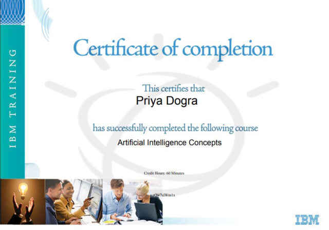 IBM training and certifications