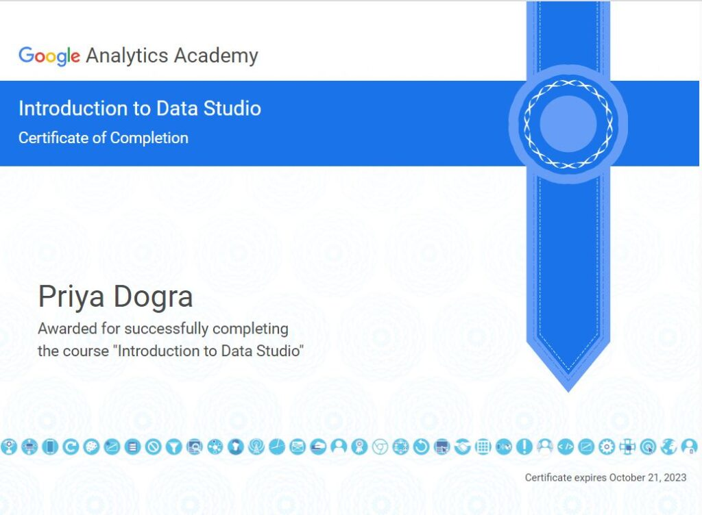 introduction to data studio