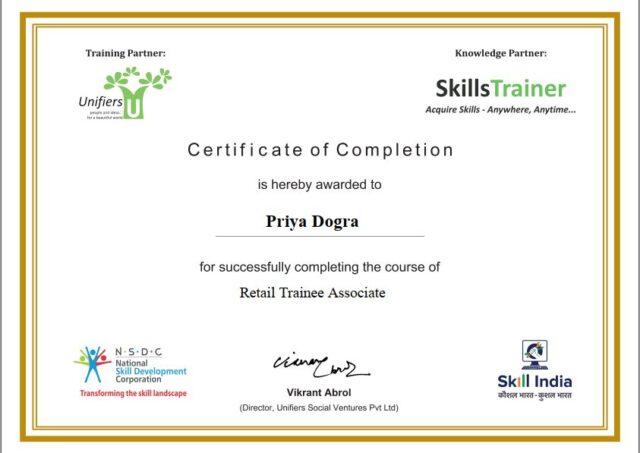 E-SKILL India Free Courses