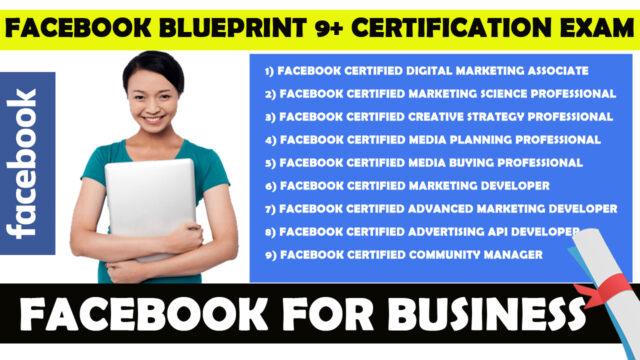 facebook free certification