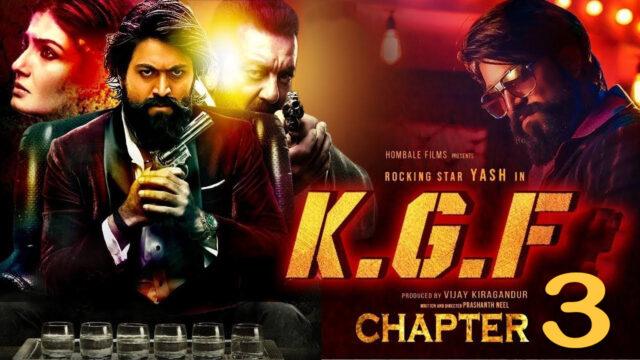 KGF Chaper 3 release date - Kgf part 3 release date