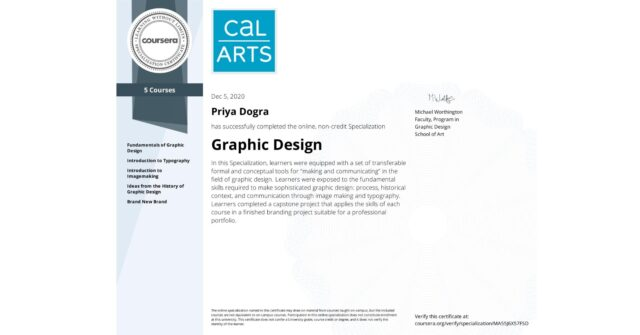 Graphic Design Specialization Coursera Quiz Answers