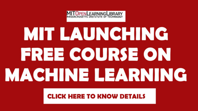 MIT Machine learning Free Course