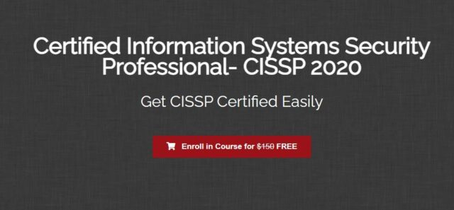 Certified Information Systems Security Professional- CISSP 2020