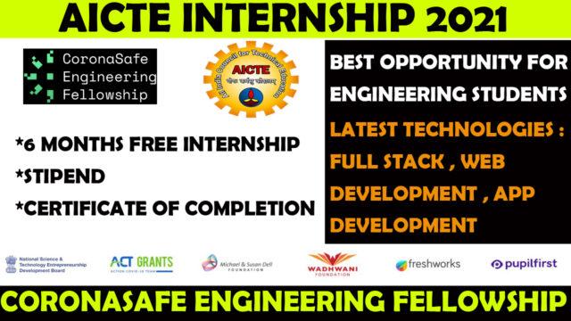AICTE internship 2021