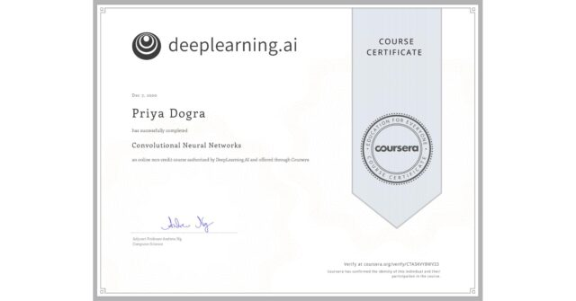 convolutional neural network free course