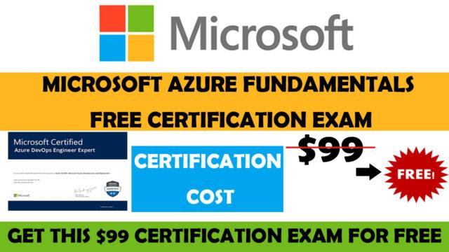 microsoft azure free certificate