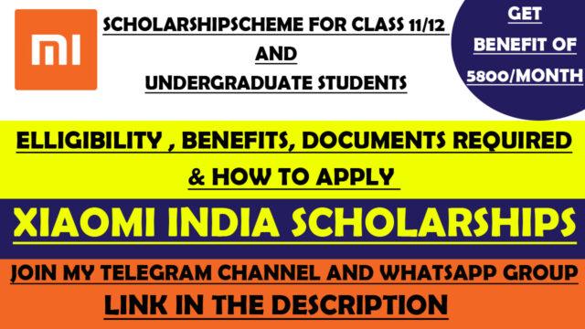 mi scholarship 2021