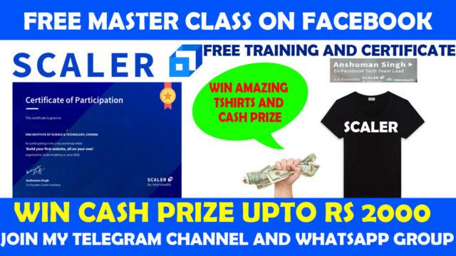 scaler academy free masterclass