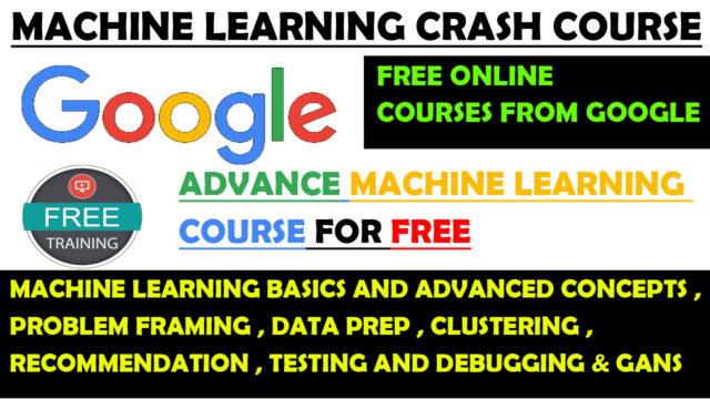Google Developers free training