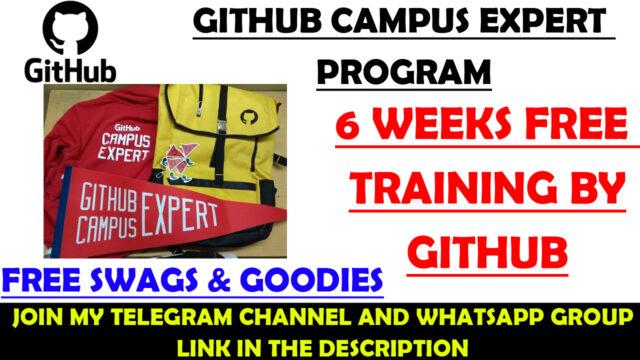 github expert program