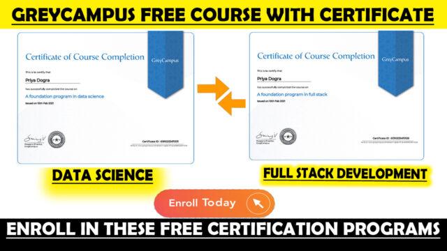 greycampus free programs