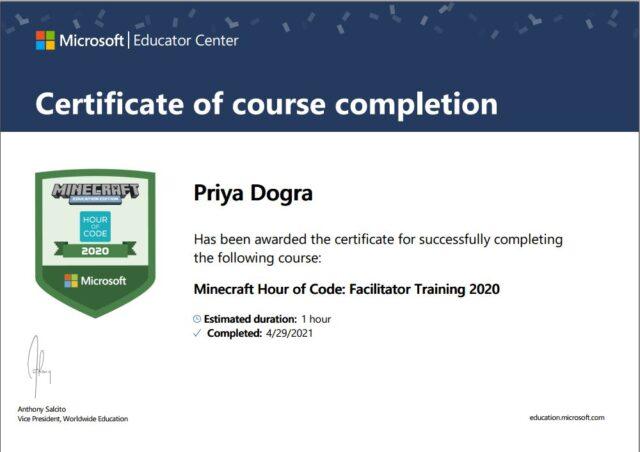 microsoft free certificate