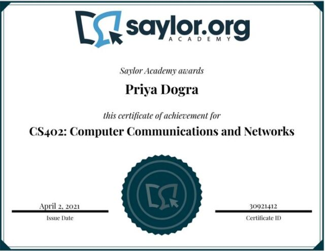 saylor academy free certificate answers