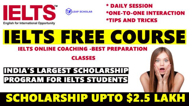 IELTS Free Course