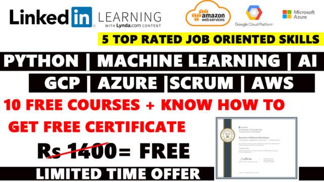 Linkedin Free Certificate