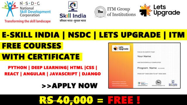 eskill free certificate