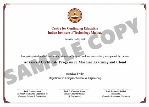 iit madras certificate