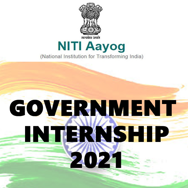 niti aayog internship for students