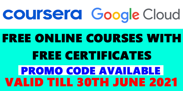 Coursera Free Google Cloud Courses with certificate