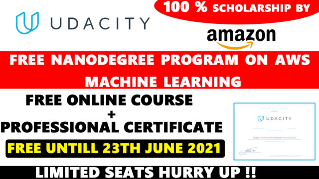 udacity free nanodegree programs