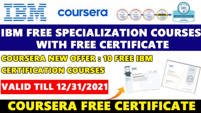coursera ibm offer