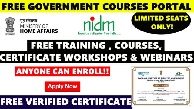 free governmentr training portal