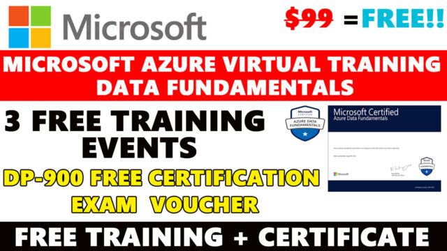 Microsoft Azure Data Fundamentals Event